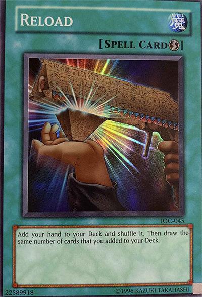 Reload Yu-Gi-Oh Card