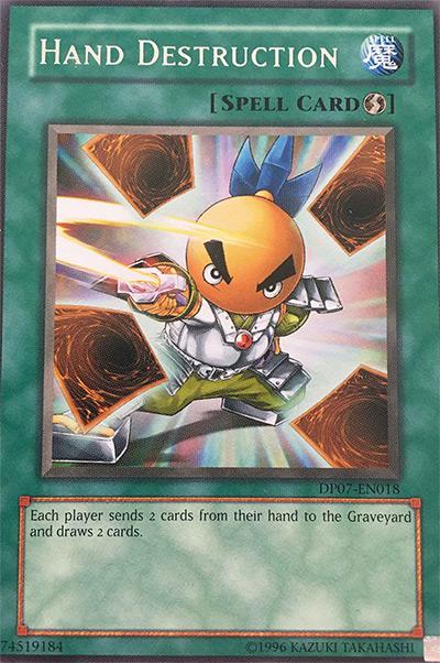 Hand Destruction Yu-Gi-Oh Card