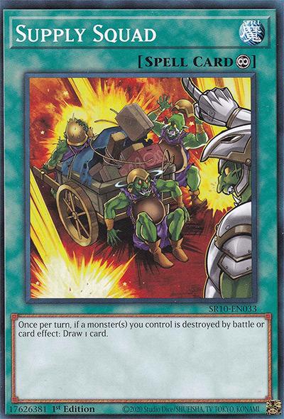 Supply Squad Yu-Gi-Oh Card