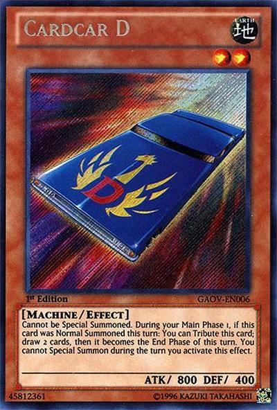 Cardcar D Yu-Gi-Oh Card