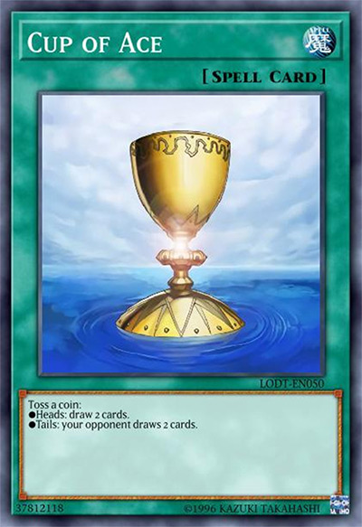 Cup Of Ace Yu-Gi-Oh Card