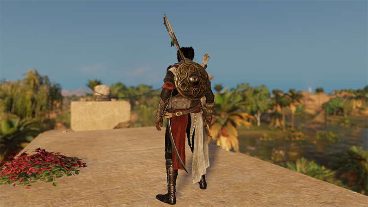 Prince of Persia Outfit AC Origins mod