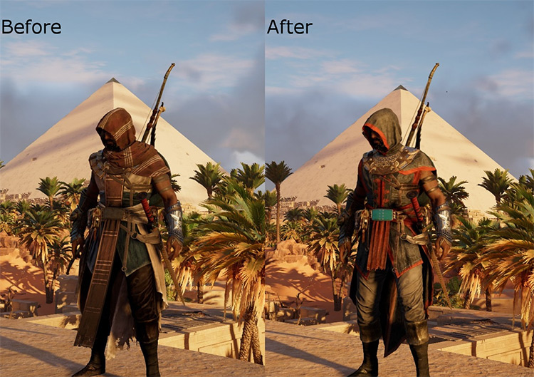 Chinese Assassin Outfit in Assassin's Creed Origins