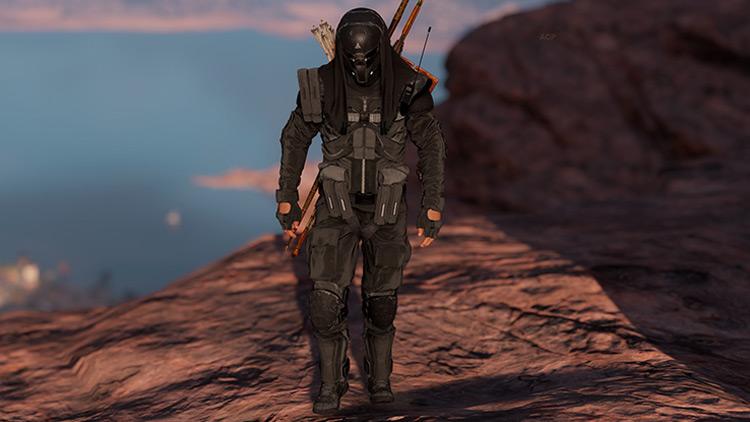 Black Abstergo Trooper mod AC Origins