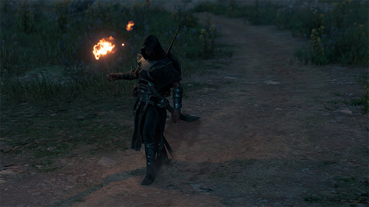 Shadow Warrior - Follower of Khepri Overcoat mod AC Origins