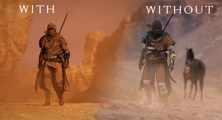 True Desert Raider - Skin Retexture AC Origins mod