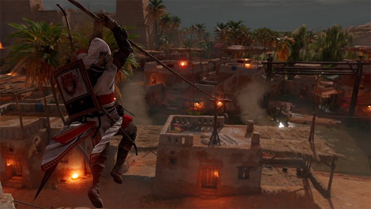 Ornate Assassin Outfit - Egyptian Hedj Replacer mod AC Origins
