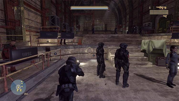 Halo 3 ODST Fireteam Campaign mod Halo MCC