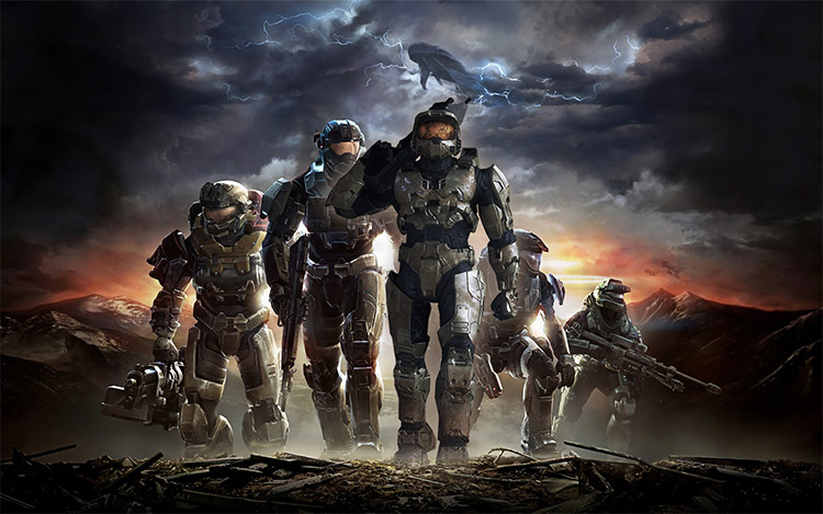 Halo Reach Campaign With Master Chief (Ft Voice Of Steve Downes) mod