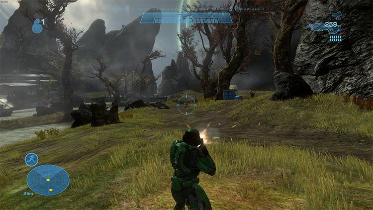 Halo Reach Third Person Campaign Halo MCC mod