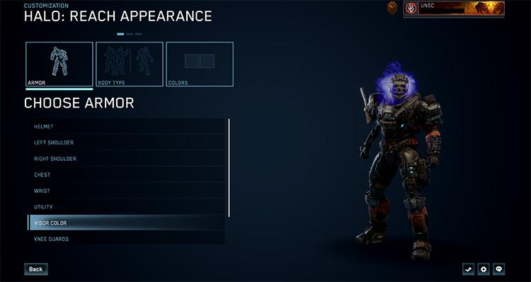 All Character Customizations Unlocked mod Halo MCC