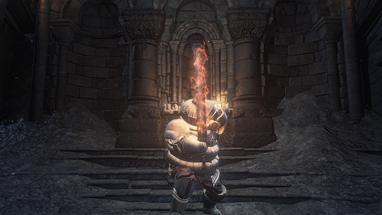 Fire Gem from Dark Souls 3