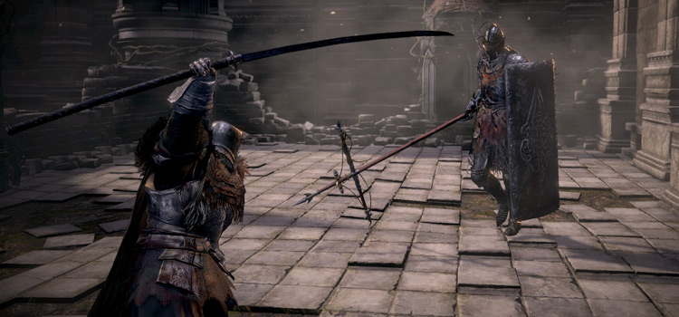 PvP Battle Stance - DS3 Champions Ashes