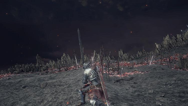 Claymore Dark Souls 3 screenshot