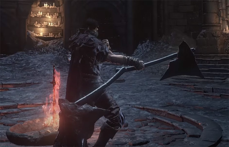 Winged Knight Twinaxes in DS3