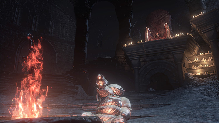 Emergency heals from Dark Souls 3