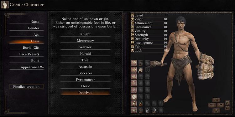 Deprived in Dark Souls 3
