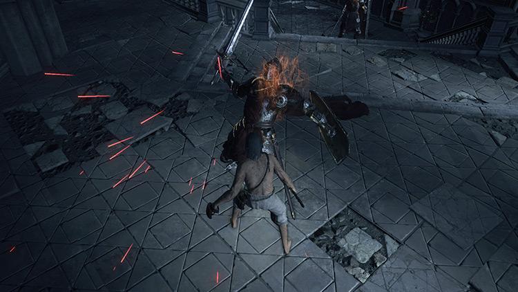 Parry in Dark Souls 3
