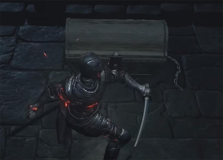 Chest chains Dark Souls 3