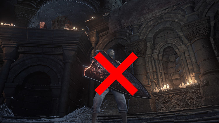 Dont Block with Shield in DS3