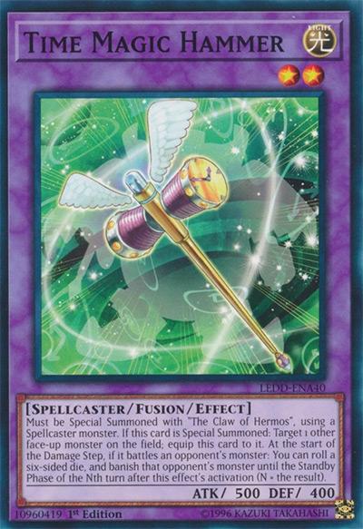 Time Magic Hammer YGO Card
