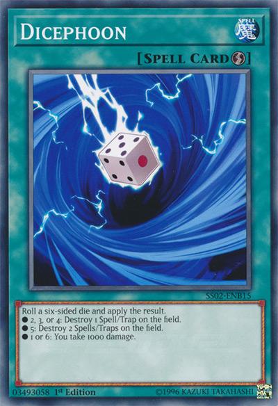 Dicephoon Yu-Gi-Oh Card