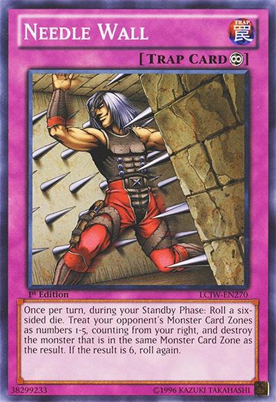 Needle Wall Yu-Gi-Oh Card