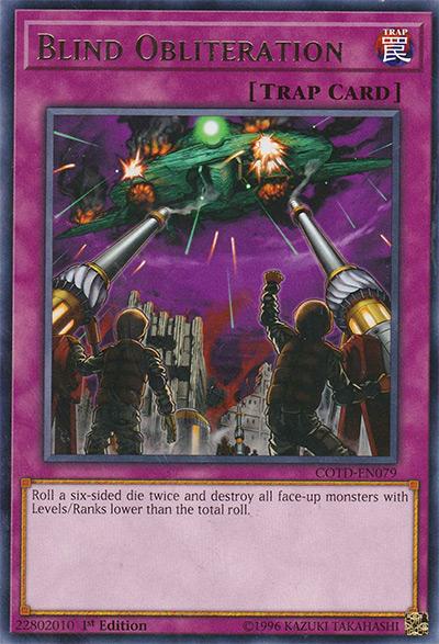 Blind Obliteration Yu-Gi-Oh Card