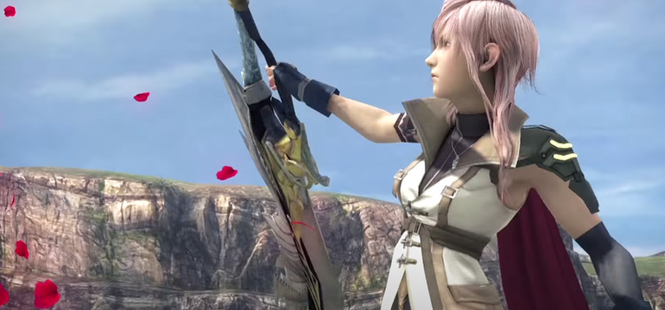 Lightning FF13 Gunblade HD Screenshot