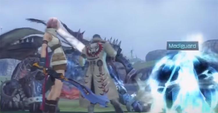 Gladius Gunblade in FF13