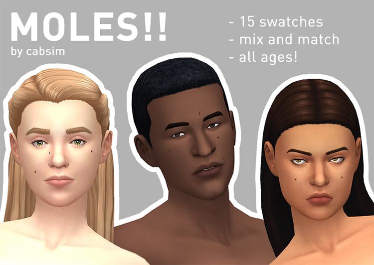 Moles! first CC set - TS4