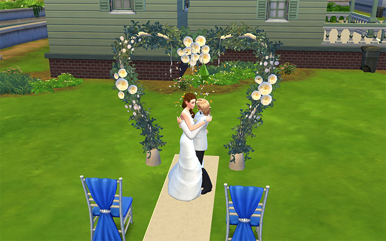 TS3 Wedding Arches converted for TS4