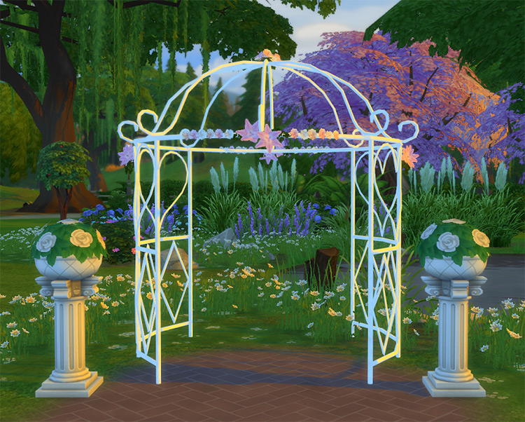 Tie The Knot Gazebo CC for TS4