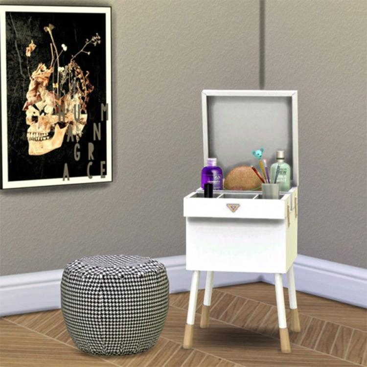 Trinket End Table - TS4 CC by LeoSims
