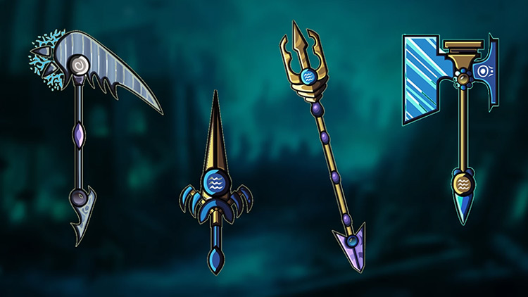 Fantasy Weapons mod for Brawlhalla