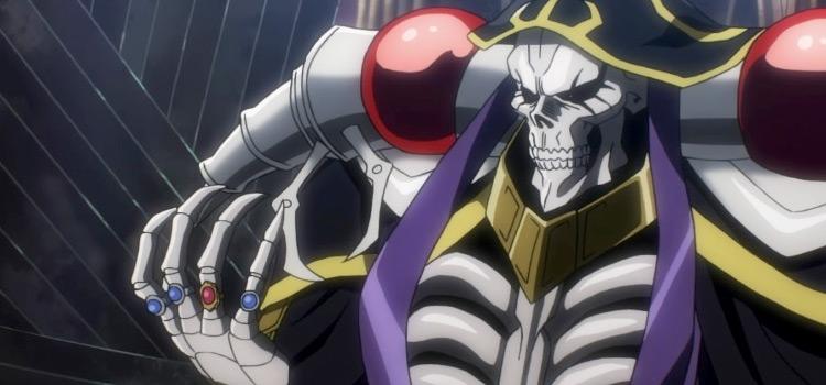 Ainz from Overlord Anime Screenshot