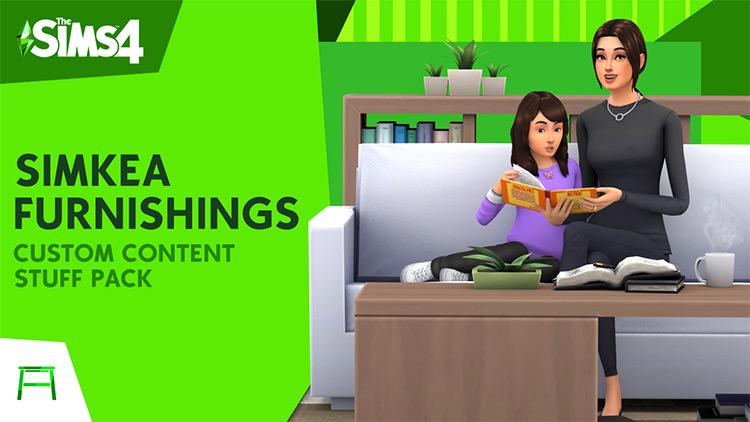 Simkea Furnishings - Big Sims 4 IKEA CC