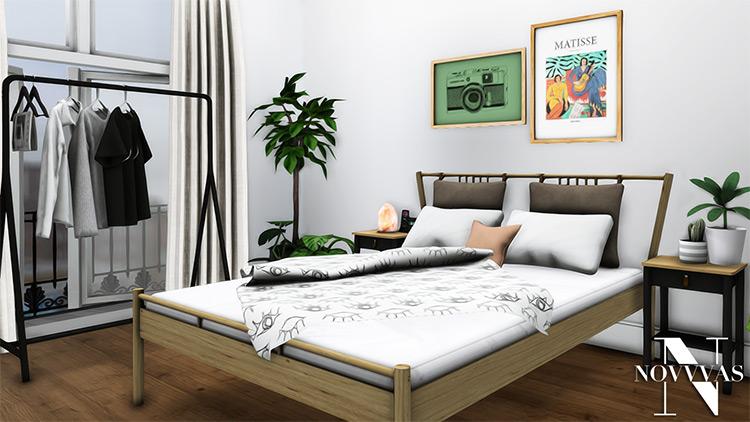 IKEA Bedroom Set CC - The Sims 4