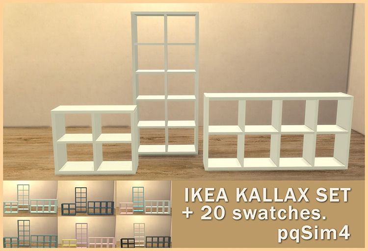 IKEA Kallax - Sims 4 CC
