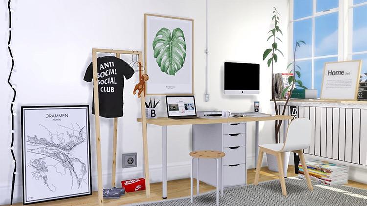 IKEA Office Set - Sims 4 CC