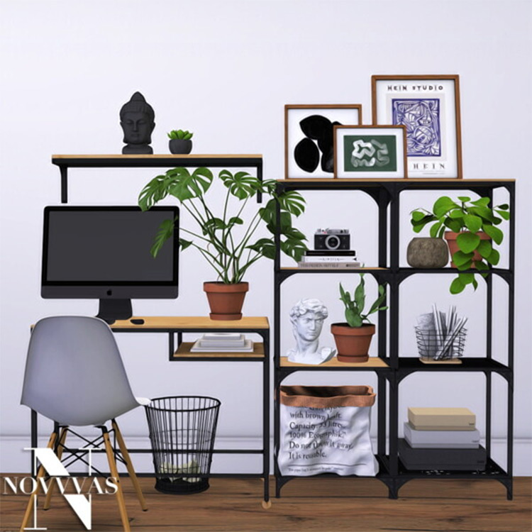 IKEA Shelves CC for The Sims 4