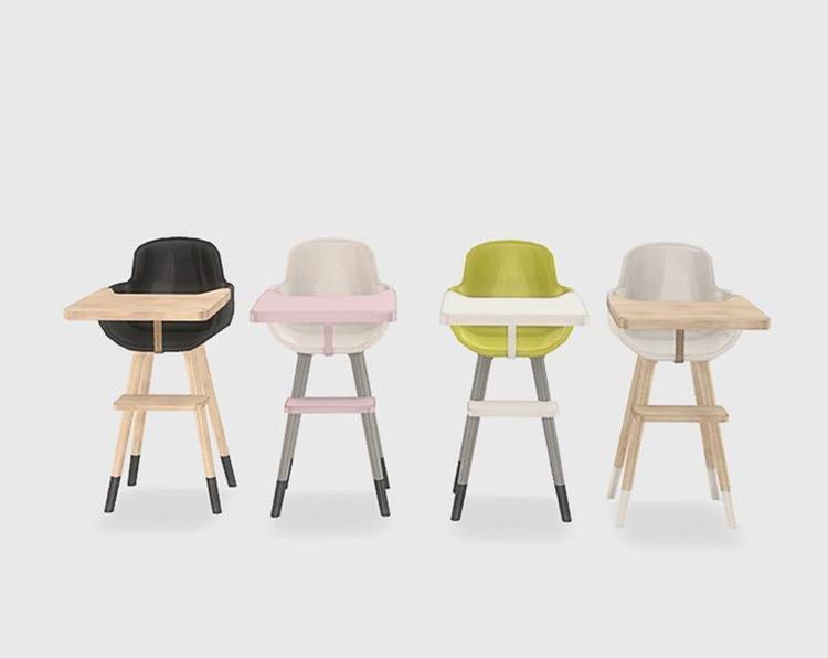 IKEA High Chair CC for Sims 4
