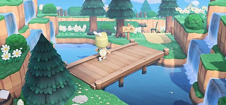 15 Cool Bridge Ideas For Animal Crossing: New Horizons