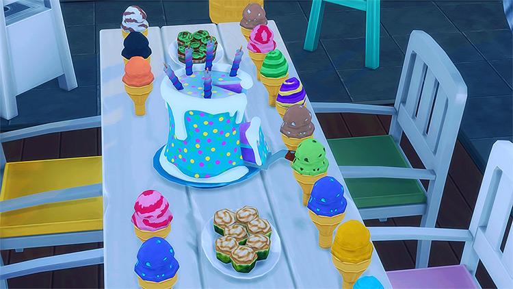 Fortnite Birthday Cake Sims 4 CC