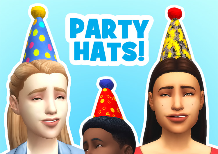 Party Hats for Sims 4