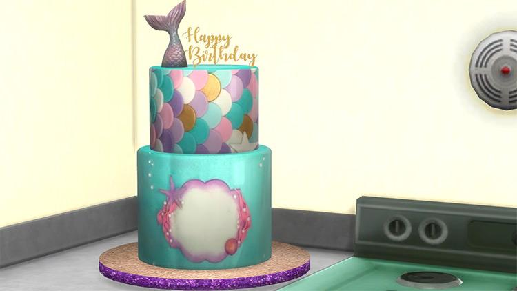 Mermaid Cake for Sims 4