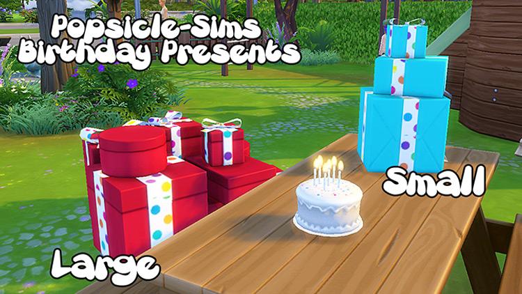 Birthday Presents Sims 4 CC