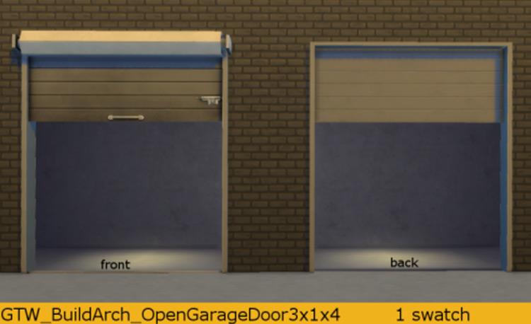 Open Garage Door TS4 CC