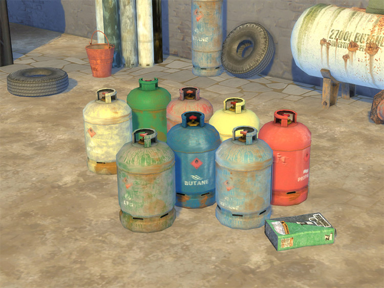 Gas Bottle for Sims 4