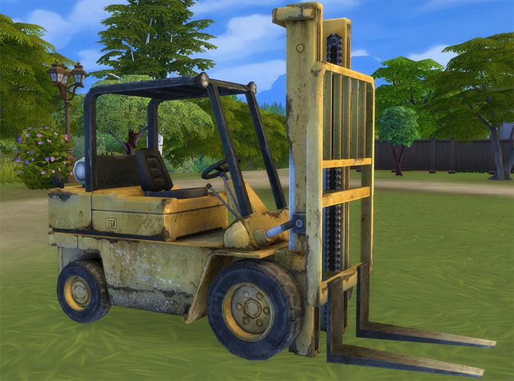 Garage Stuff Sims 4 CC